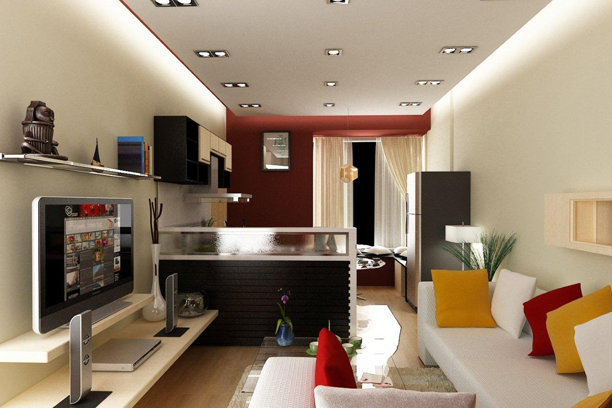 Luxurious interior troops Tan Phu